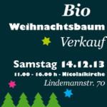 banner bioweihnachtsbaum Verkauf