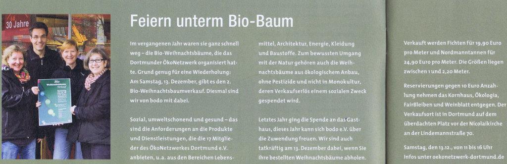 Bodo Bioweihnachtsbaumverkauf 12-2014