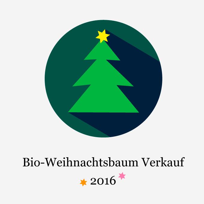 Bioweihnachtsbaum Verkauf 2016
