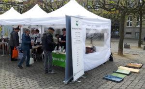 ÖkoNetzwerk Stand beim Stadtfest Dobunt
