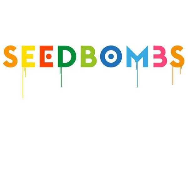 Seedbombs Schriftzug