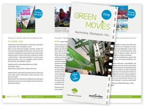 Flyer Greenmovies 2018