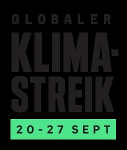 globaler klima streik Bannere