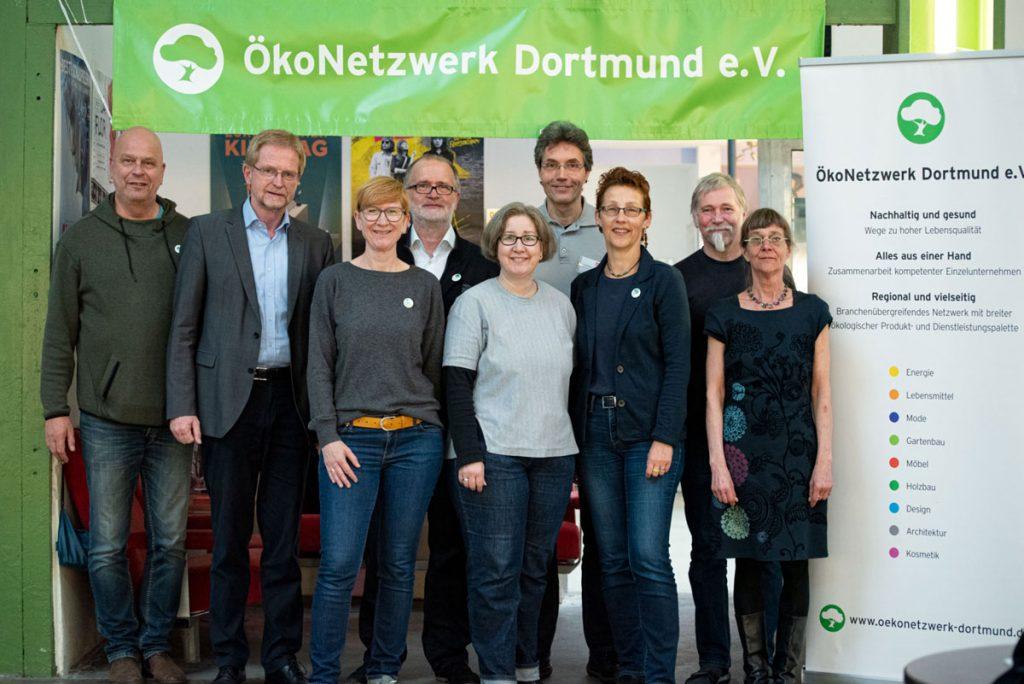 Gruppenfoto Greenmovies Tag1 Dortmund OekoNetzwerk
