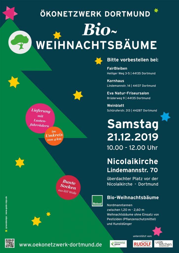 bioweihnachtsbaum Verkauf 2019-plakat